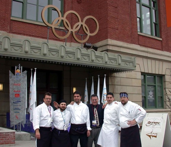 Chef Hartner, Culinary Team Member for International Olympic Committee, Salt Lake 2002